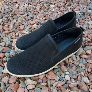 Mephisto Ulrich Black Perforated Loafers 9.5